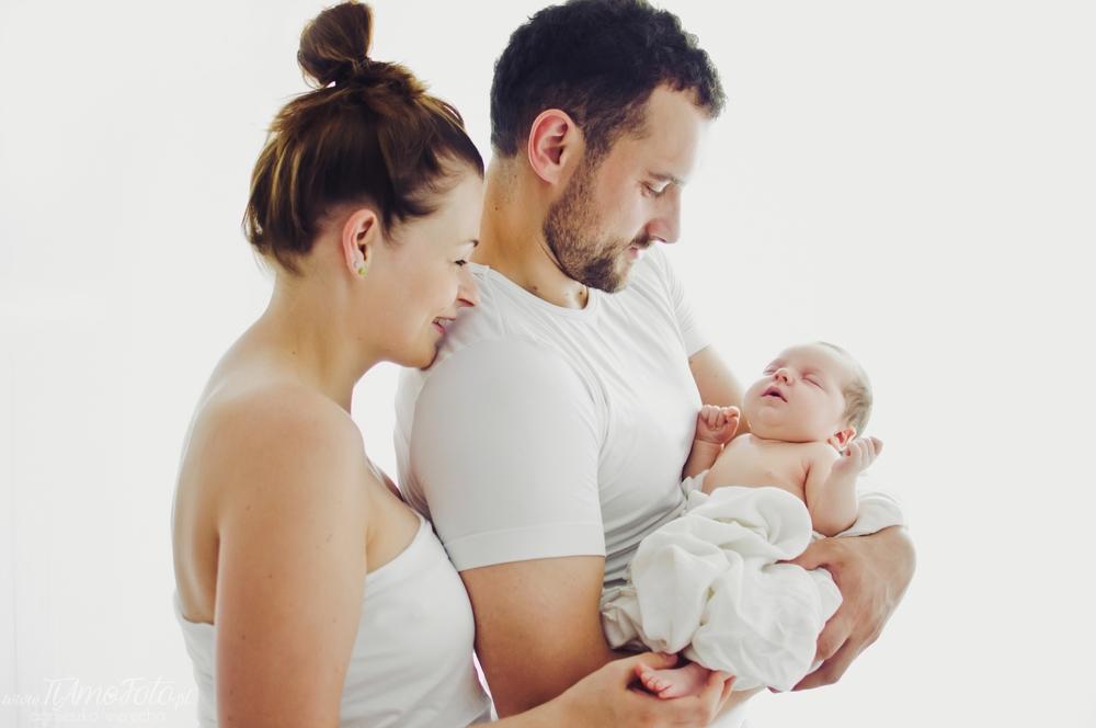 sesja rodzinna noworodkowa studio Poznan TiAmoFoto 59 - SESJA RODZINNA