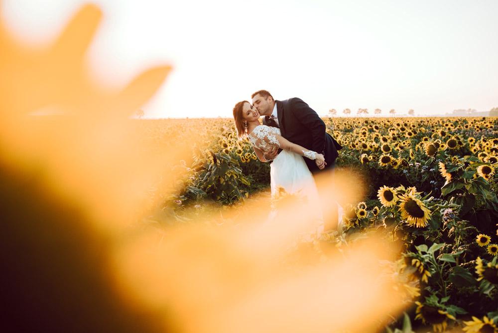 sesja ślubna pole slonecznikow TiAmoFoto 18 - Sesja ślubna