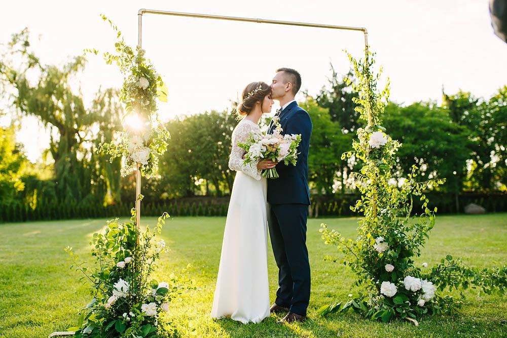 ślub Września Pałac na Opieszynie fotografia ślubna