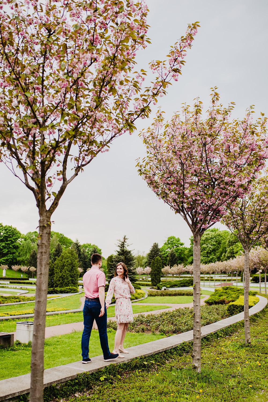 sesja narzeczenska kwiaty cytadela poznań TiAmoFoto 1 - Basia ♥ Jakub