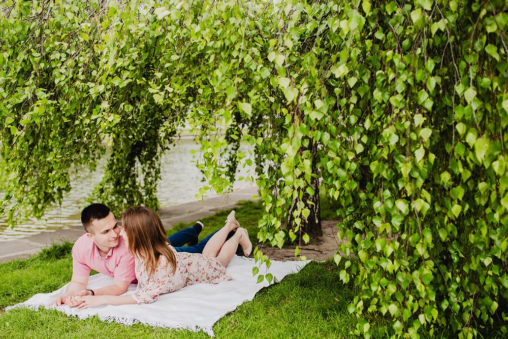sesja narzeczenska kwiaty cytadela poznań TiAmoFoto 12 - Basia ♥ Jakub