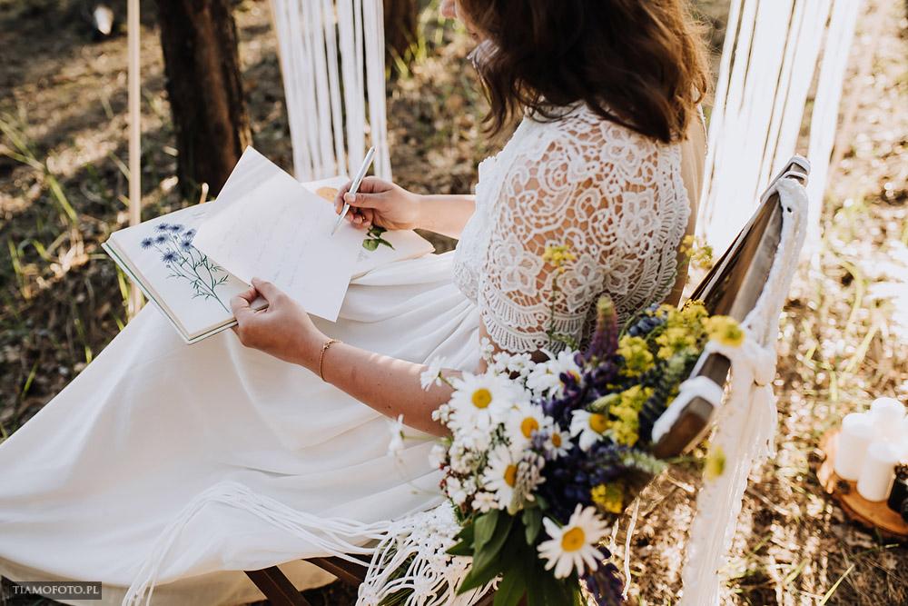 sesja slubna boho diy makrama fotograf Poznan TiAmoFoto 17 - DIY BOHO - sesja ślubna z makramą w tle