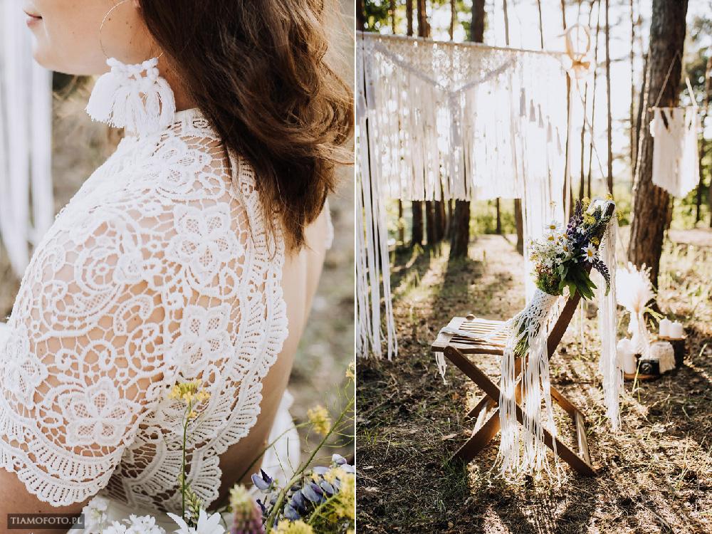 sesja slubna boho diy makrama fotograf Poznan TiAmoFoto 21 - DIY BOHO - sesja ślubna z makramą w tle