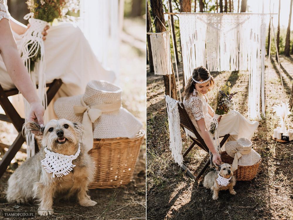 sesja slubna boho diy makrama fotograf Poznan TiAmoFoto 25 - DIY BOHO - sesja ślubna z makramą w tle