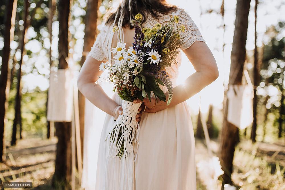 sesja slubna boho diy makrama fotograf Poznan TiAmoFoto 26 - DIY BOHO - sesja ślubna z makramą w tle