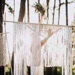 DIY BOHO – sesja ślubna z makramą w tle