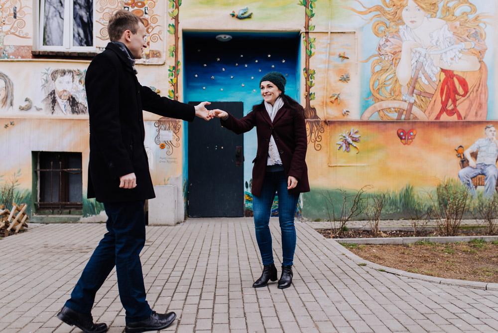 sesja zdjeciowa kolorowepodworka wroclaw TiAmoFotoPL 8 1 - Sesja Narzeczeńska na Kolorowych Podwórkach We Wrocławiu | W&T