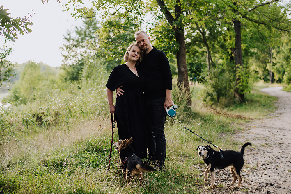 sesja rodzinna z psami nad jeziorem fotografPoznan TiAmoFoto 13 - Sesja rodzinna z Psami